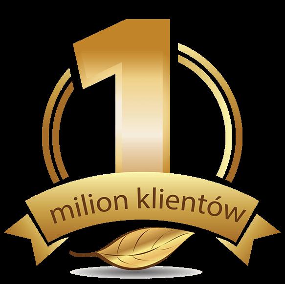 1 milion klientów